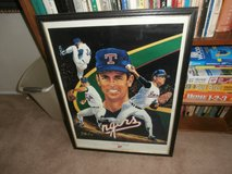 Framed Photo Poster Nolan Ryan in Yucca Valley, California