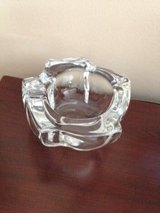 VINTAGE ART DECO CRYSTAL GLASS ASHTRAY BY DAUM NANCY in Glendale Heights, Illinois