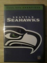 *** SEATTLE SEAHAWKS 2005 NFC CHAMPIONS DVD (New Sealed) *** in Fort Lewis, Washington