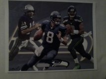 ** SEAHAWKS - Wilson, Hasselbeck & Zorn 8x10 framed Lithograph **(NEW) in Fort Lewis, Washington