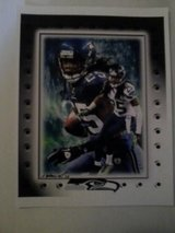 *** SEAHAWKS - Richard Sherman 8x10 framed Lithograph *** (NEW) in Fort Lewis, Washington