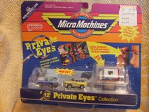 Galoob Micro Machines Private Eyes Collection #12 NIP in Naperville, Illinois