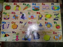 Large Floor Fruit & Vegetable Alphabet Puzzle in Clarksville, Tennessee