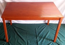 IKEA Kitchen Table - Rectangular & Solid Wood in Fort Riley, Kansas