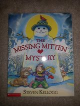 The Missing Mitten Mystery book in Camp Lejeune, North Carolina