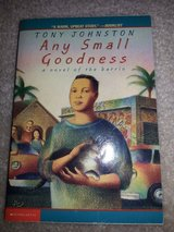 Any Small Goodness-A Novel of the barrio book in Camp Lejeune, North Carolina