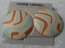 Vintage 70s Earrings Still on original card Pierced in Kingwood, Texas