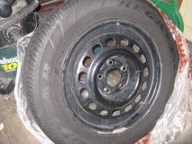 Spare tire and rim in Bolingbrook, Illinois