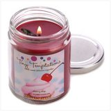 45-hrs Soy Scented Lidded Jar Candle ~ Cherry Chip - New in Fort Lewis, Washington