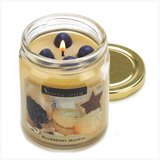 45-hrs Soy Scented Lidded Jar Candle ~ Blueberry Muffin ~ New in Tacoma, Washington