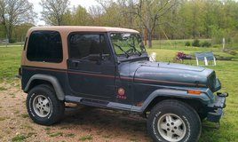 1993 jeep wrangler sahara in Fort Leonard Wood, Missouri