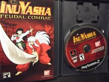 PlayStation 2 PS2 Inuyasha Feudal Combat Disk in Naperville, Illinois