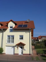 Elegant duplex half with solar water heating in Ramstein, Germany