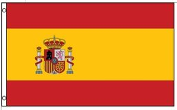 Flag ~ Spain ~ 3ft x 5ft ~ New in Fort Lewis, Washington