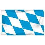 Flag ~ Bavaria ~ Oktober Fest ~ 3ft x 5ft ~ new in Fort Lewis, Washington