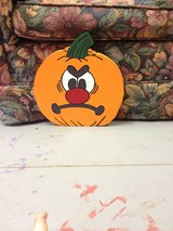Pumpkins With Different Expressions in Fort Polk, Louisiana
