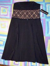 Nice Strapless Black Dress - New in Fort Campbell, Kentucky