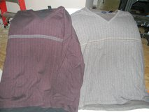 2 Mens Van Heusen pull-over Shirts 4XL in Chicago, Illinois