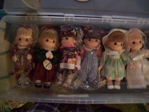 Precious moments collector dolls in Orland Park, Illinois