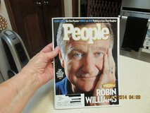"""Robin Williams"" On The Cover Of People Magazine in Houston, Texas"