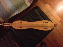 Offered in Oswego, Mountain Dulcimer, made by Robert MIze in Plainfield, Illinois