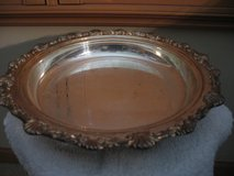 Silver Plated Serving Tray in Joliet, Illinois