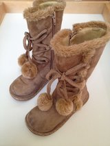 EUC Size 10 Toddler Tan Girls Boots in Chicago, Illinois