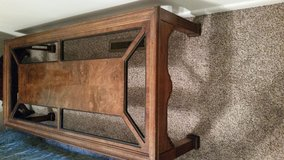Formal coffee table in Fort Riley, Kansas