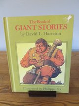 The Book of Giant Stories by David Harrison~Reduced in Yorkville, Illinois