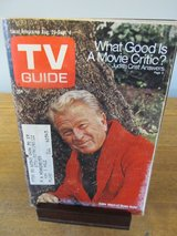 TV Guide Eddie Albert~August 1970 in Aurora, Illinois