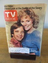"Reduced~TV Guide Beau Bridges & Helen Shaver ""United States~April 1980 in Aurora, Illinois"