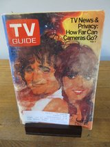 Reduced~TV Guide Robin Williams & Pam Dawber~May 1980 in Aurora, Illinois