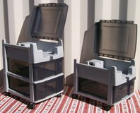 2 Plastic Game Console storage in Yucca Valley, California