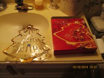 Christmas Tree Serving Dish - New In Box - Giftable in Kingwood, Texas