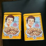 2 Toll House Cookies Canisters in Oswego, Illinois