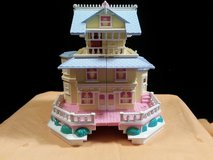 1995 Polly Pocket Bluebird Toys Pop-Up Miniature Clubhouse Victorian Mansion (T=15) in Fort Campbell, Kentucky