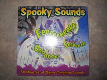 Halloween Scary Spooky Sounds Music CD! in Naperville, Illinois