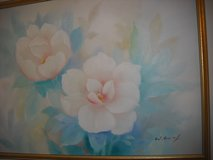 Large Flowers Oil Painting in Oswego, Illinois