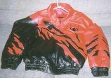 Viper Leather Jacket w/Leather Hat in Fort Lewis, Washington
