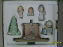 CLEARANCE Reflections Precious Moments Miniature Pewter Family Christmas Scene in Yorkville, Illinois