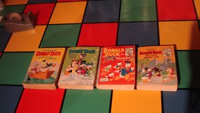 4 Donald Duck big little books from the 60s and early 70s in Grafenwoehr, GE