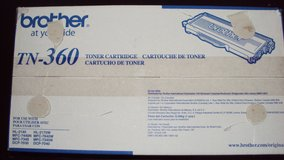 Brothers TN-360 Toner Cartridge New In Box in Spring, Texas