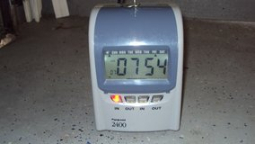 Pyramid 2400 Time Recorder in Spring, Texas