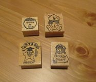 Rubber Ink Stamps (NEW) in Naperville, Illinois