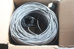 Catagory 5e, 4 Pair UTP PVC Data cable (reduced) in Lakenheath, UK