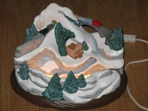 Holiday Winter Mountain Scene Tabletop Piece in Camp Pendleton, California
