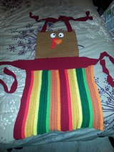Handmade Crocheted Turkey Apron in Bolingbrook, Illinois