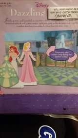 Disney Carboard Princess Dolls in Fort Lewis, Washington