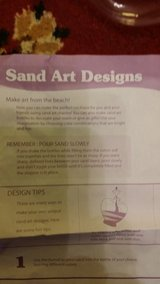 Sand Art and Vases in Fort Lewis, Washington