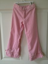 Girls (5) Pink Velour Ribbon Detail Pants in Aurora, Illinois